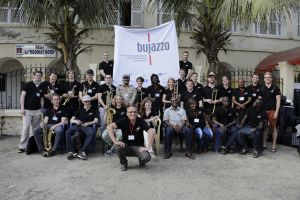Mike Hertings GlobalMusicOrchestra in Senegal und Guinea-Bissau - ZDF Aspekte berichtet